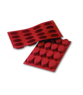STAMPO SILICONE SMALL OVALS