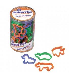 SET 50 TAGLIAPASTA ANIMALI PLASTICA