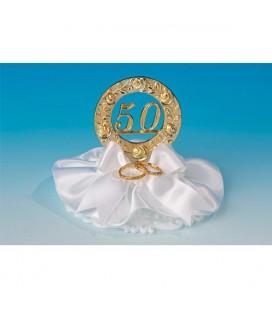 CAKE TOPPER 50 ANNI MATRIMONIO