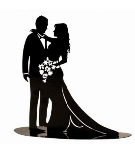 SPOSI ROMANTICI SAGOMA METALLO