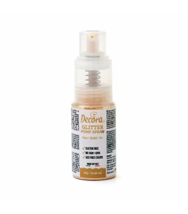 PUMP GLITTER POLVERE EXTRAFINE PERLESCENTE SPRAY ORO