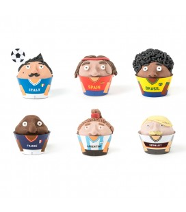 KIT CUPCAKE WORLD CUP